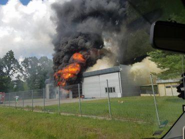 Tragiczny pożar w Zakrzu