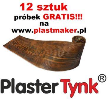 PROMOCJA 12 SZTUK PRÓBEK GRATIS – elastyczna deska elewacyjna PlasterTynk