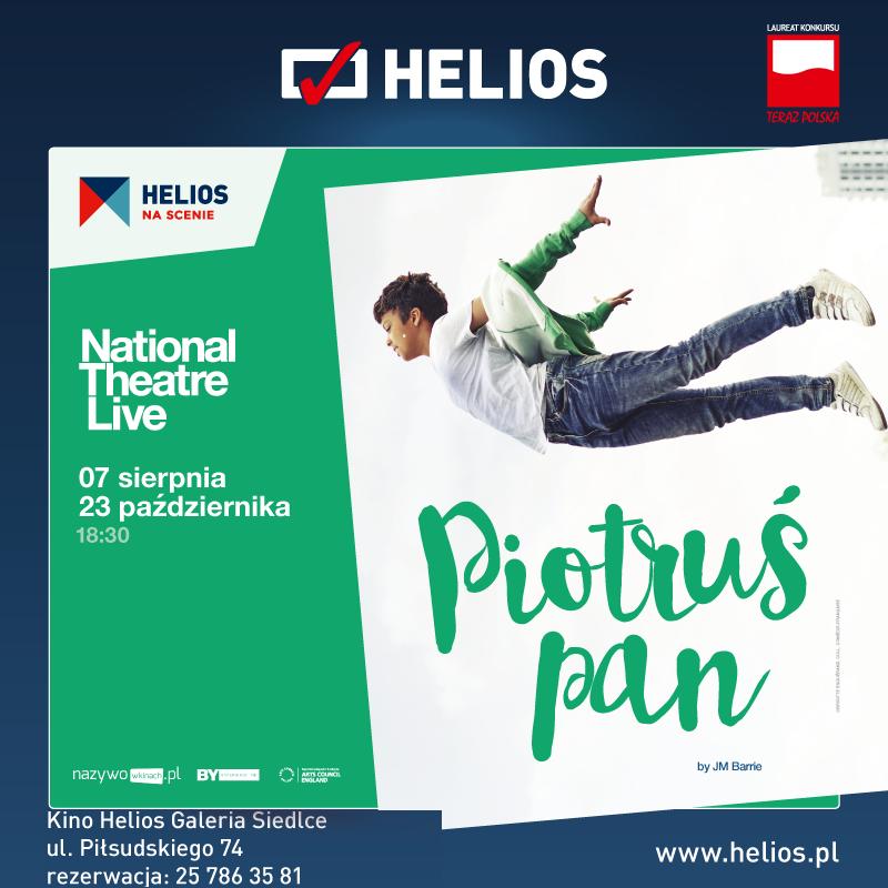 Helios na scenie – Piotruś Pan
