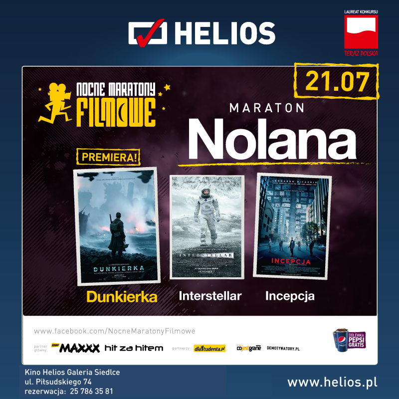 Maraton Nolana – wygraj bilety