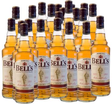 Ukradli blisko 600 litrów whisky