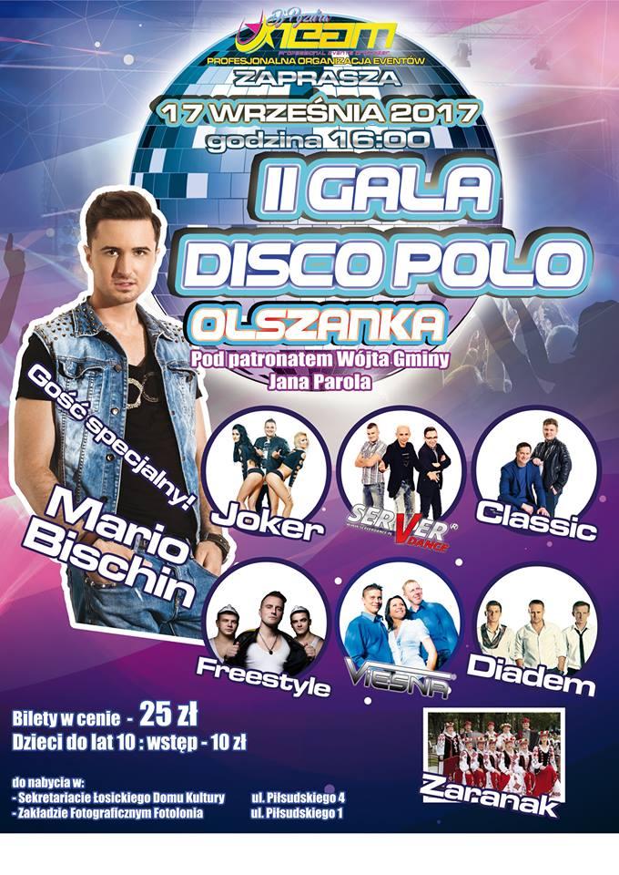 II Gala Disco Polo już wkrótce