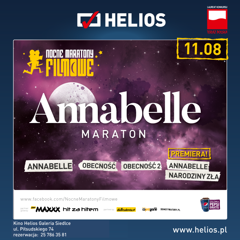 Annabelle Maraton – wygraj bilety