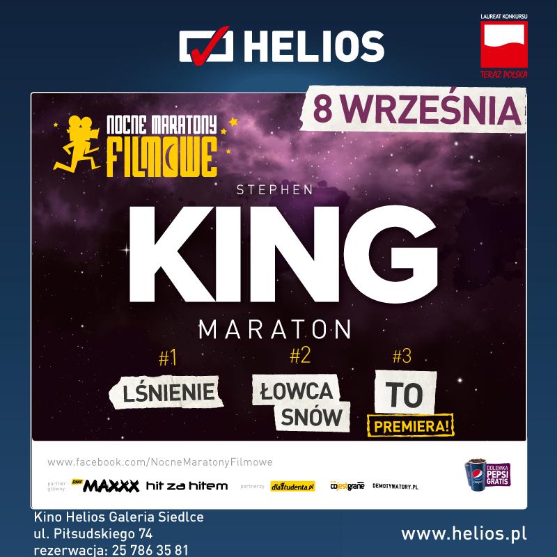 Stephen King Maraton – wygraj bilety