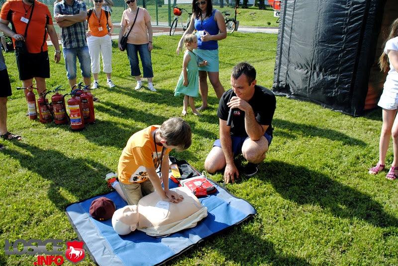 Warsztaty z udzielania pierwszej pomocy