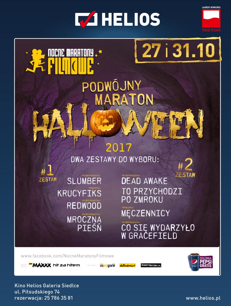 Podwójny Maraton Halloween – wygraj bilety