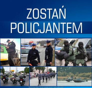 Rekrutacja kandydatów do służby w Policji w 2017 roku na terenie województwa mazowieckiego