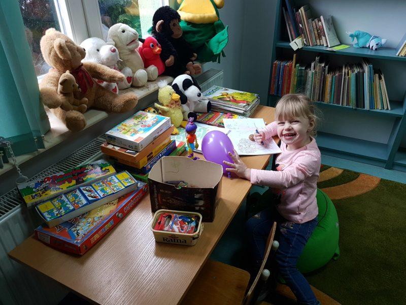 W Bibliotece popilnują ci dziecka