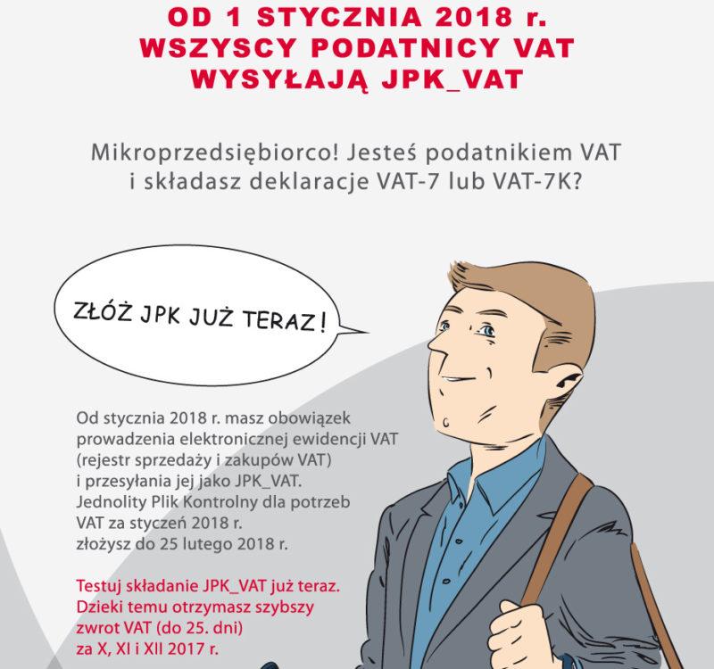 JPK VAT obowiązkowy dla przedsiębiorców