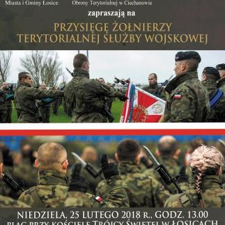 Przysięga wojskowa 5 Mazowieckiej Brygady Obrony Terytorialnej