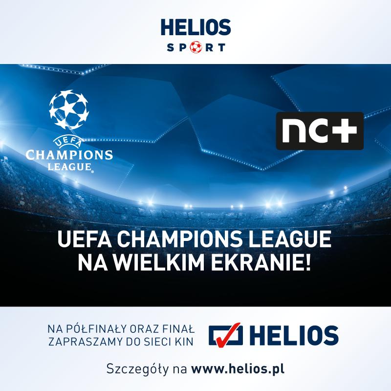 Liga Mistrzów UEFA na wielkim ekranie – wygraj bilety