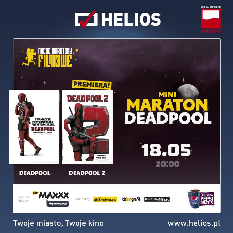 Mini Maraton Deadpool – wygraj bilety