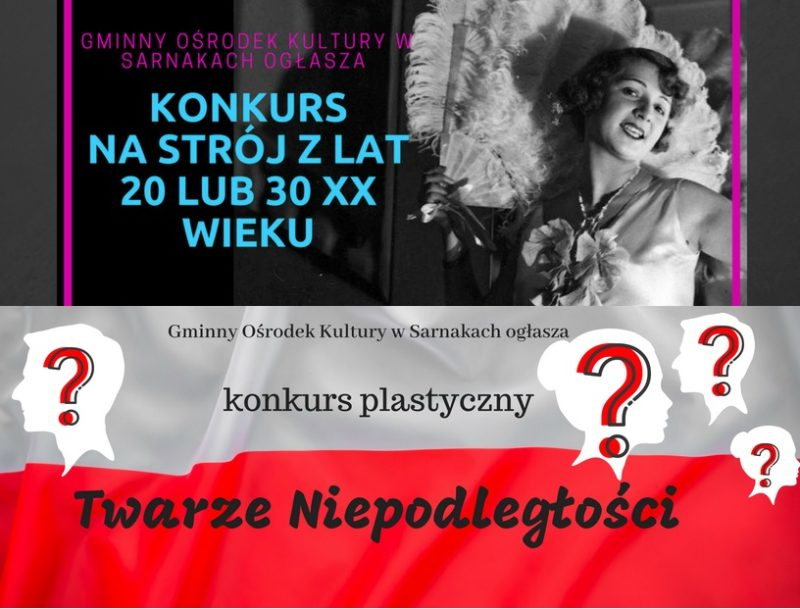Konkursy w GOK Sarnaki