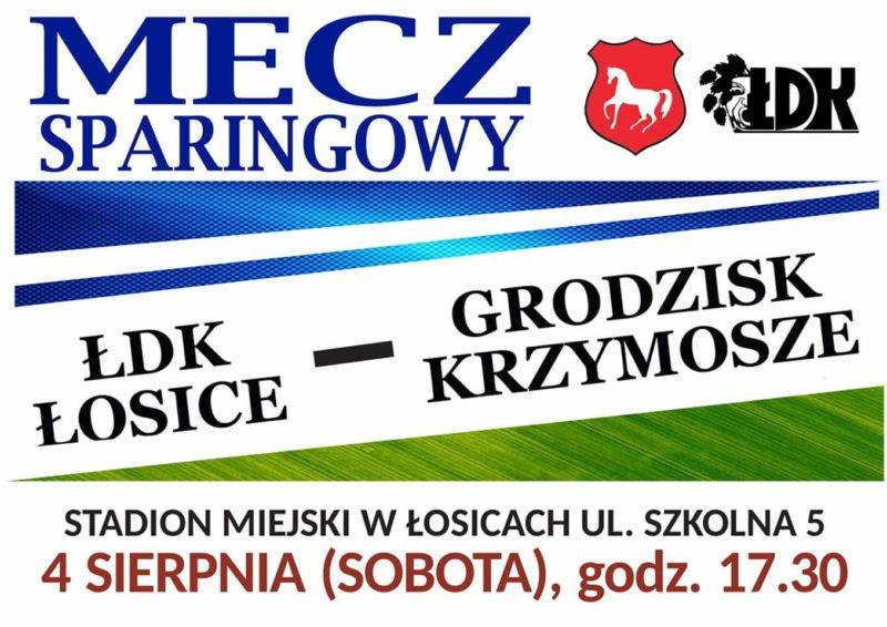 ŁDK Łosice kontra Grodzisk Krzymosze