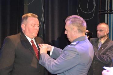 Komendant Straży Miejskiej uhonorowany medalem