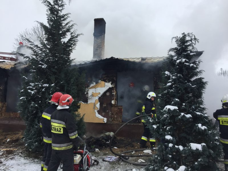 Trzy ofiary śmiertelne w pożarze domu